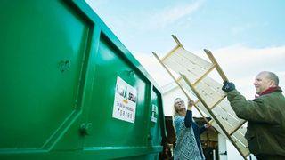 – 60.000 trailere med avfall går ut av landet, og vi vet ikke hvilke verdier de inneholder