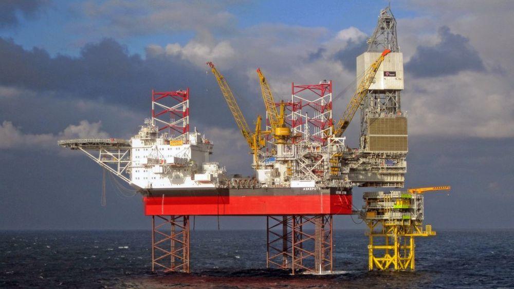 Leteaktiviteten har gitt bedre resultater globalt til nå i år sammenlignet med første halvår i 2018. Her er letaktiviteten representert ved Equinors Cat J-rigg på Oseberg, hvor det ble funnet 22 millioner enkle fat olje tidligere i sommer.
