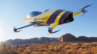 200 km/t i lufta: Her er den flyvende versjonen av Formel 1