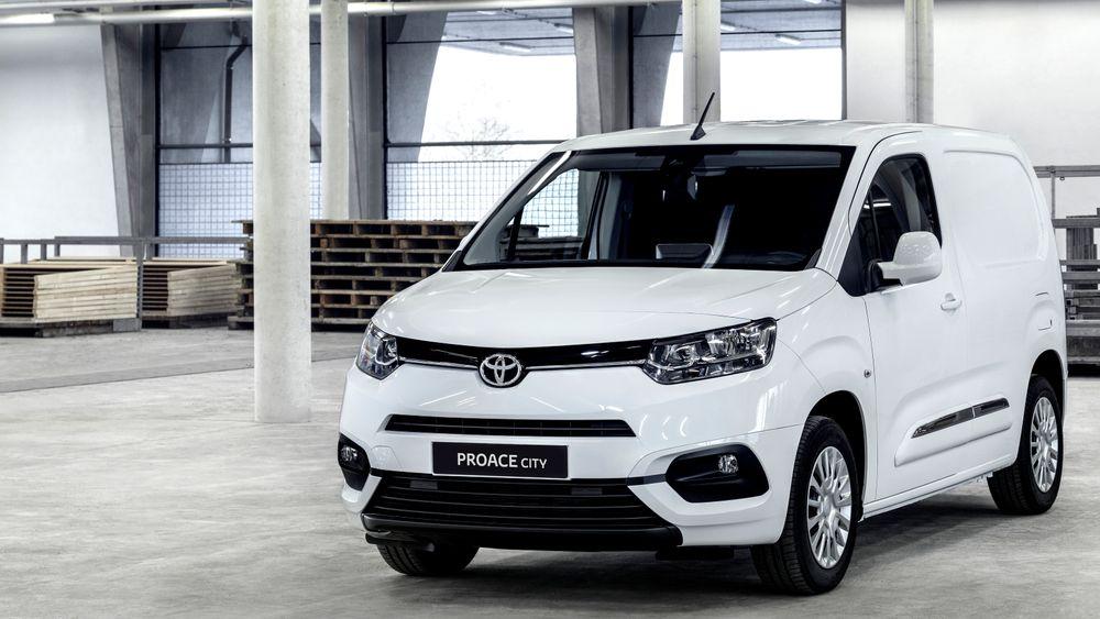 Proace City blir varebil nummer to i elbilutgave.