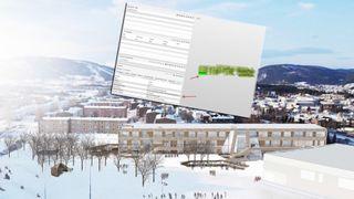 Denne barneskolen i Nordland kan hjelpe byggebransjen til å kutte utslippene av klimagasser