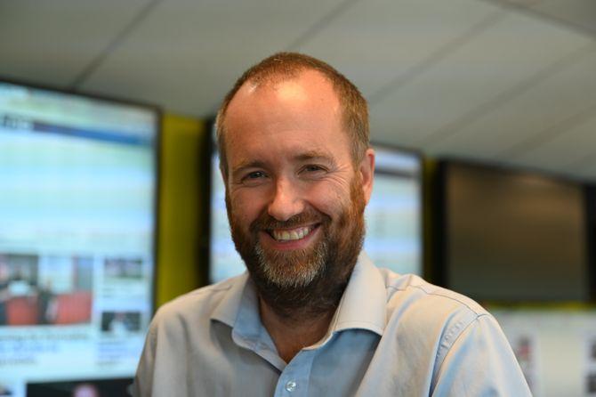 Eirik Haugen er ny redaktør i Østlands-Posten. Han kommer fra stillingen som nyhetsredaktør i Varden, der han har vært siden 2015.
