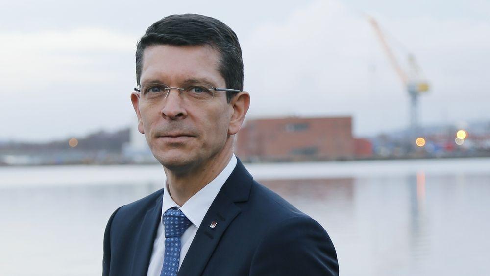 Geir Håøy, konsernsjef i Kongsberg-gruppen.