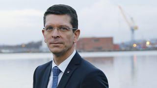 Kongsberg-sjefen: Vi nærmer oss et gjennombrudd innenfor autonom nærskipsfart
