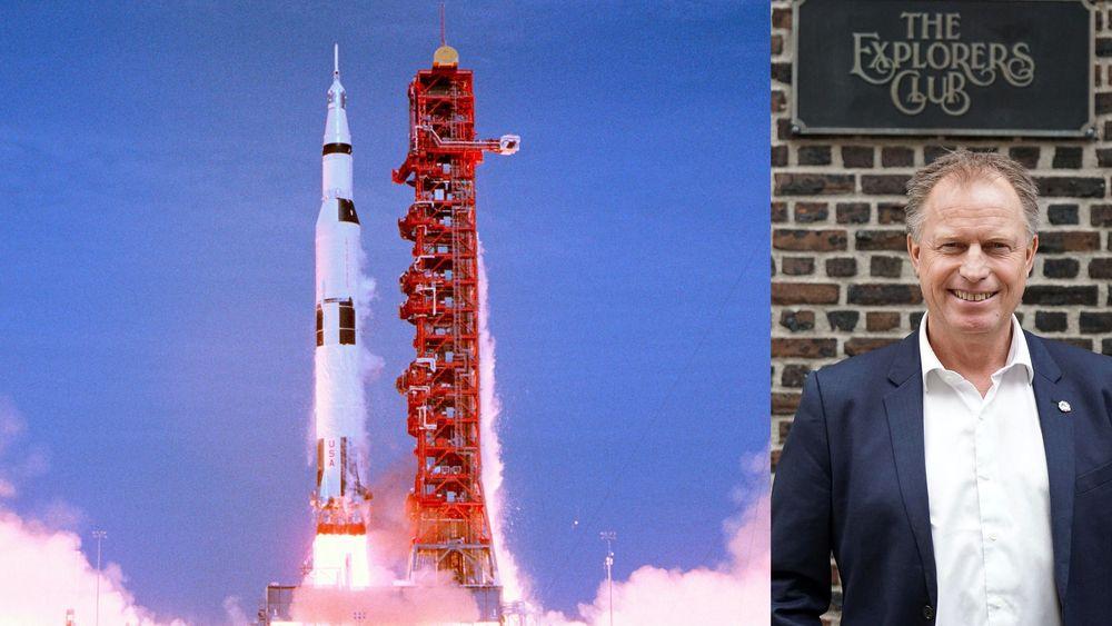 Romforsker Pål Brekke har allerede vært i kinosalen tre ganger for å se Apollo 11-dokumentaren som har norgespremiere om en måned.
