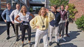 Gigantiske stabler hoper seg opp i norsk industri. Åtte studenter har seks uker på seg til å komme opp med en løsning