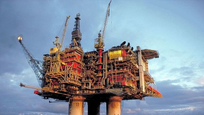 I mai ble det meldt om oljeutslipp ved Statfjord A. Nå vet ingen hvor det mystiske utslippet kommer fra