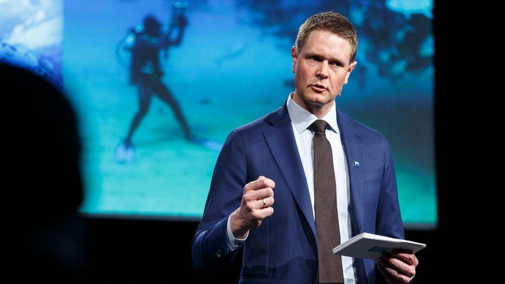 Forbundsleder Harald Solberg i Rederiforbundet snakker i sommerintervjuet om sine teknologihåp og politiske bekymringer.