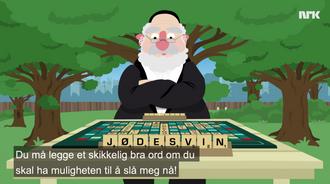 Skjermdump fra NRK Satiriks.