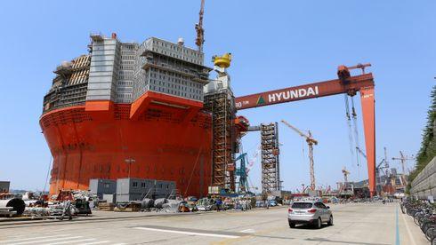 Vekten på Goliat økte fra 18.000 til 30.000 tonn: – Både Hyundai og Eni mistet fullstendig styringen