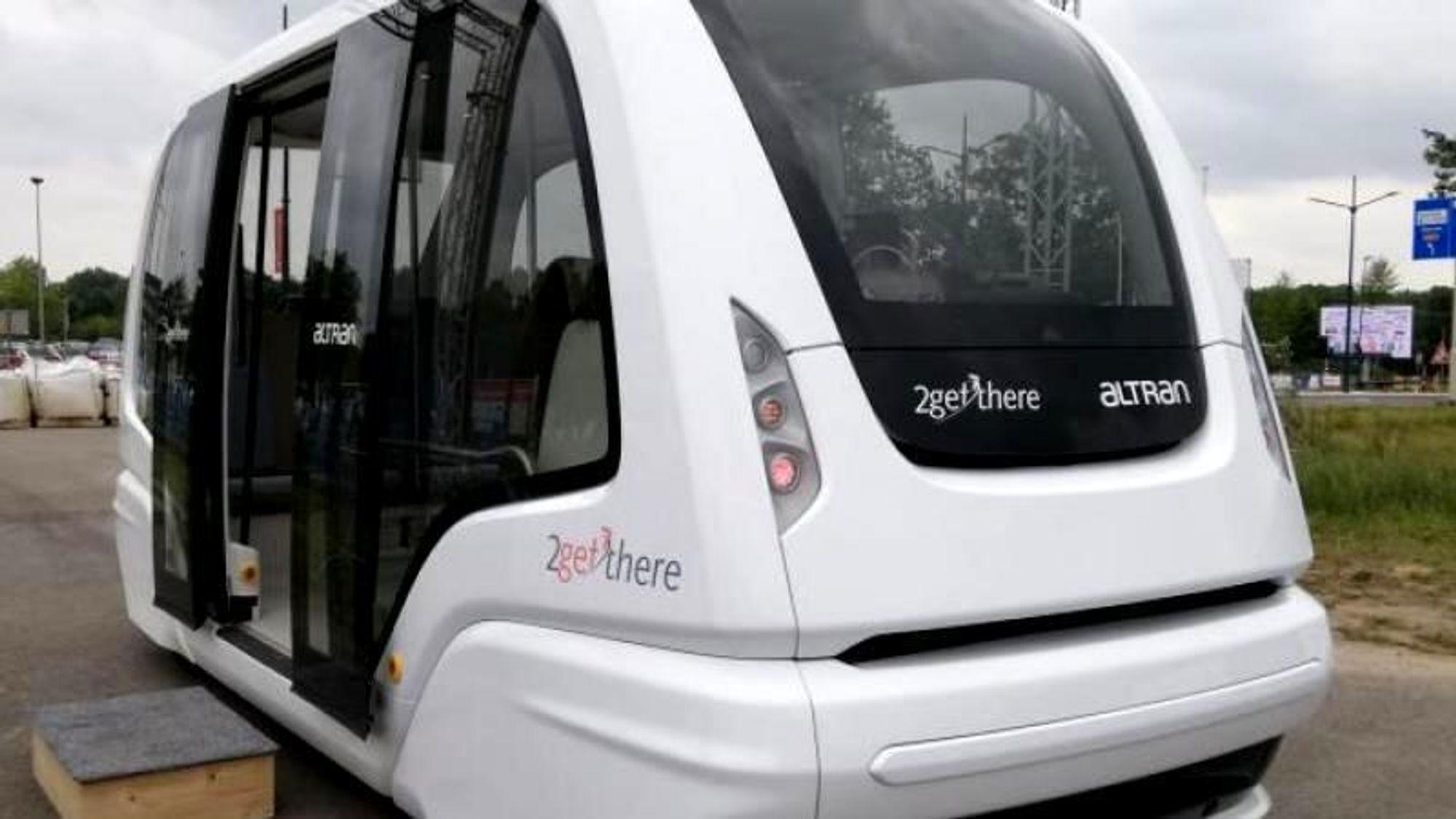 Dagens versjon av Parkshuttle forbinder T-banestasjonen Kralingse Zoom med næringsområdet Rivium i byen Capelle aan den IJssel ved Rotterdam. Dette er den nye, tredje generasjonen av bussen.