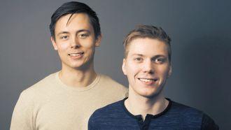 Keenious lager smarte tekstsøk med egenutviklet algoritme. Fra v. Anders Rapp og Frode Opdahl.