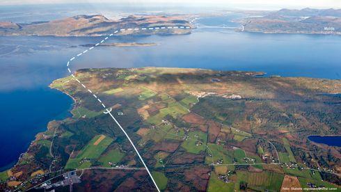 E39-kryssingen av Romsdalsfjorden kan bli 300 millioner billigere