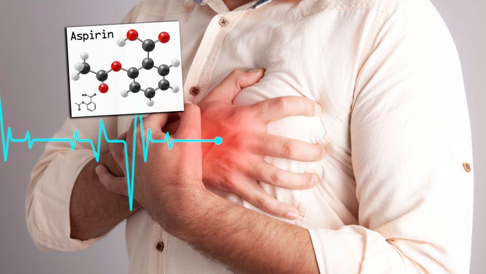Ny studie viser at kun de som har hatt et hjerteinfarkt trenger å ta aspirin forebyggende.