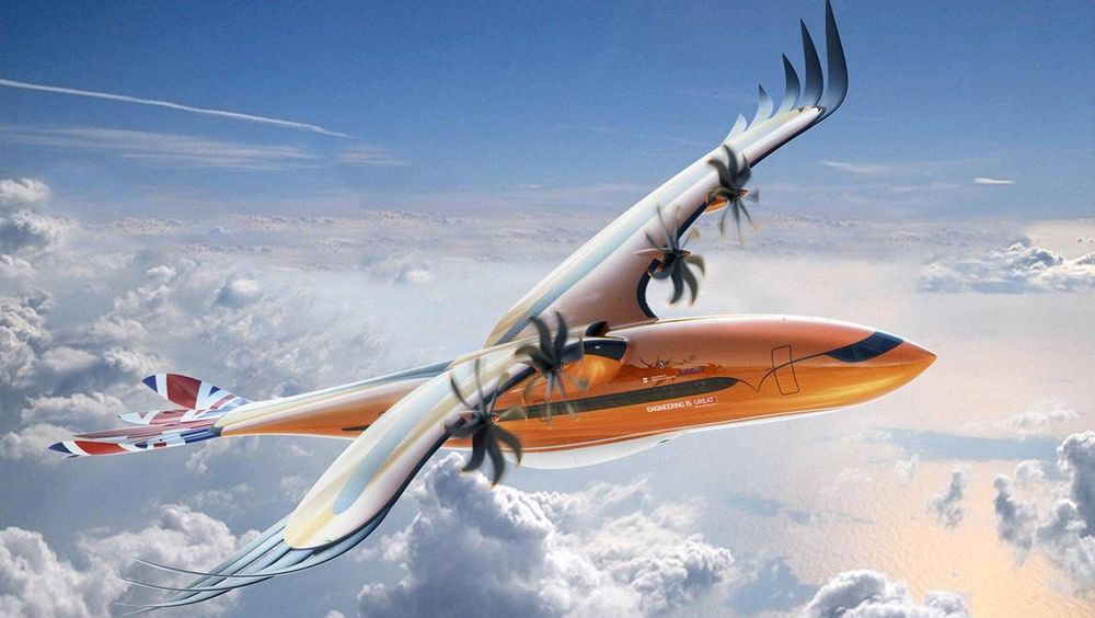 Airbus-konseptet Bird of Prey, som skal forbli nettopp et konsept.