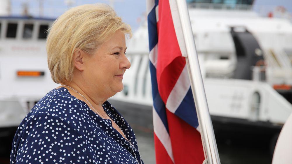 Erna Solberg innkaller til toppmøte om havvind
