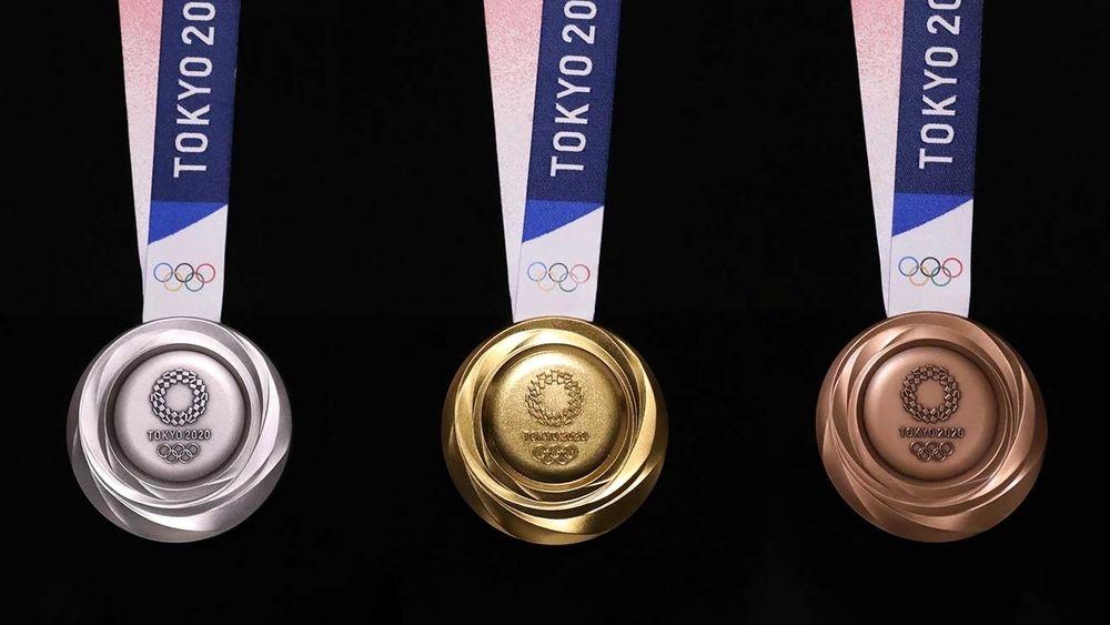 Medaljene som skal deles ut til de beste utøverne i OL i Tokyo neste sommer er laget av resirkulert metall fra brukt elektronikk.