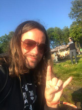Programleder Torkil Torsvik i Radio Rock.