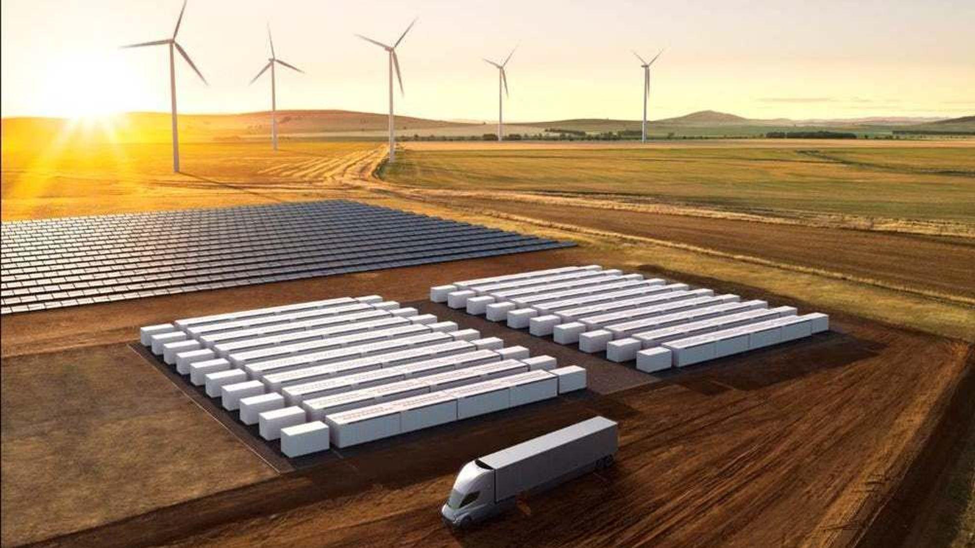 Tesla har nylig lansert sine nye batterienheter. Moss Landing-prosjektet i California skal ta i bruk 400 av dem.