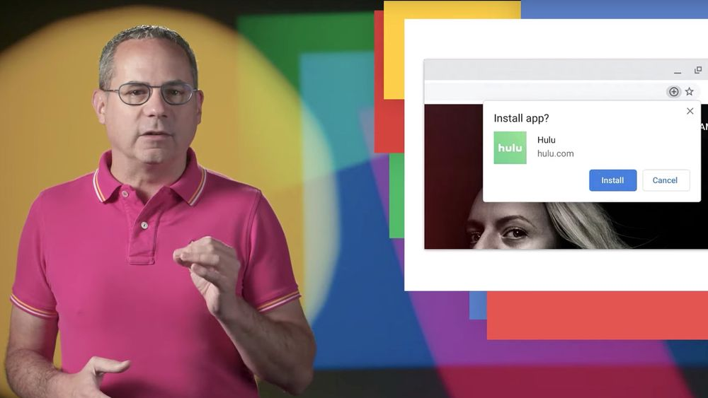 Pete LePage i Google forteller i en Youtube-video om nyhetene i Chrome 76.