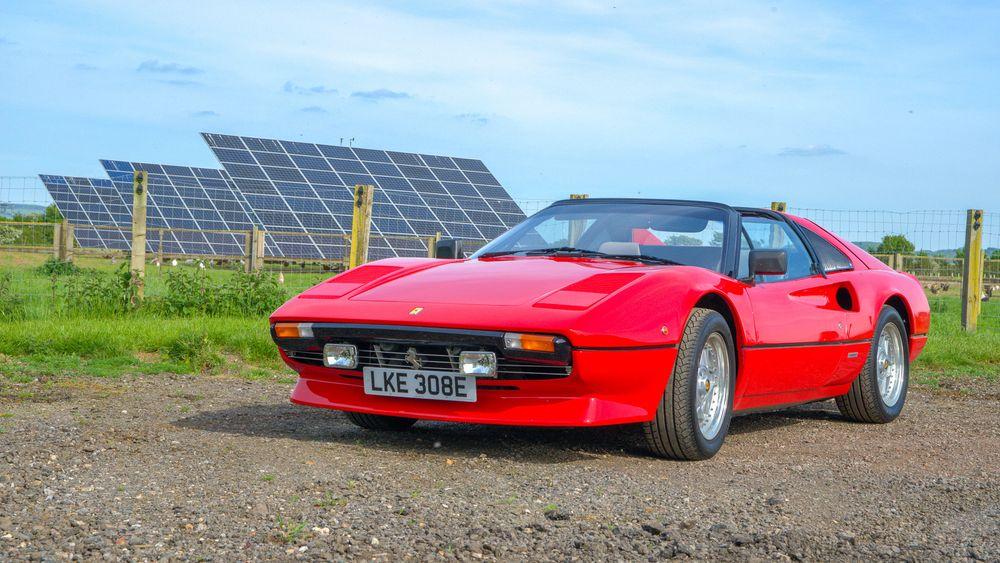 Klassisk Ferrari-lyd får du ikke fra denne 308 GTB fra 1982. Nå er den blitt elektrisk.