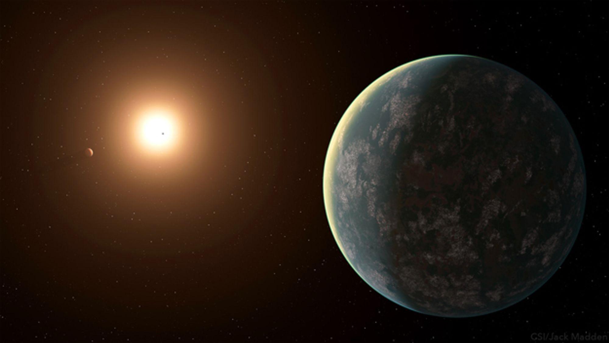 Tre nye planeter har blitt oppdaget i bane rundt GJ 357, en varm stjerne som er om lag en tredel av størrelsen av solen. En av planetene kan være beboelig.