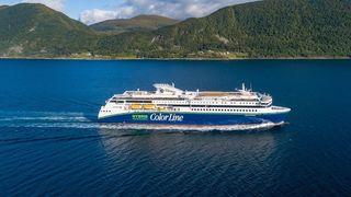 Nå er endelig verdens største hybridskip levert fra Ulstein til Color Line