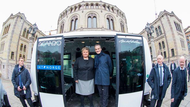 Statsministeren vil ha slutt på dieselbusser