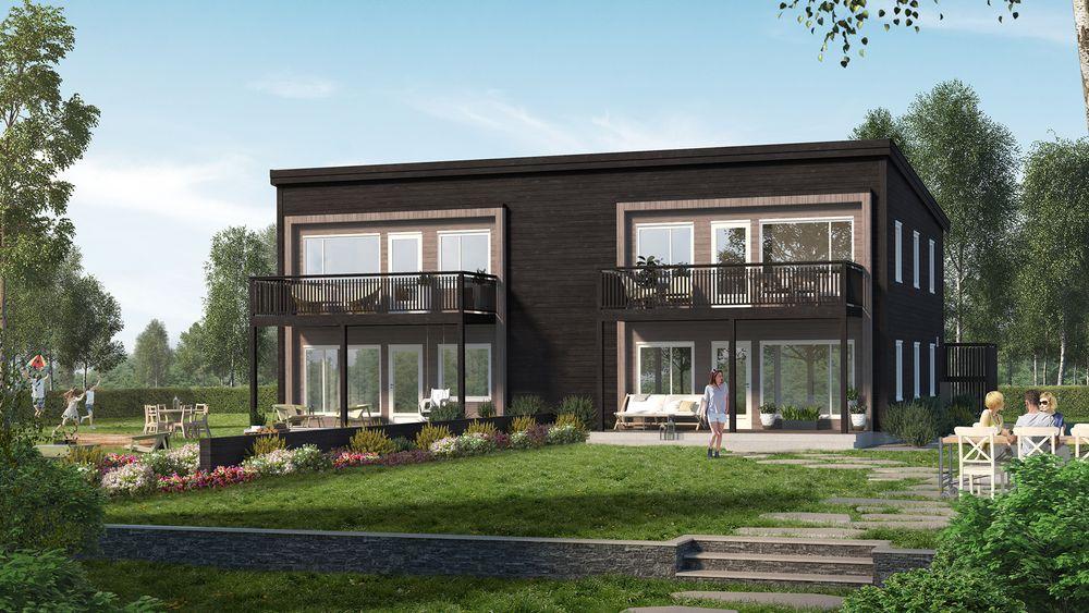 Søsterselskapet LKC Bolig, hvor Lennert Kristoffersen er eiendomsutvikler, lever videre etter LKC-konkursen. Dette er én av selskapets boligløsninger.