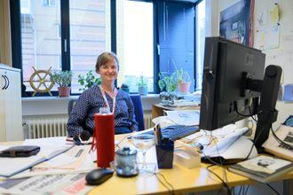 Sjefredaktør Mari Skurdal i Klassekampen.