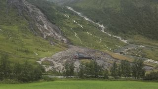 Nå har geolog undersøkt: Fortsatt ustabile rasområder i Voss