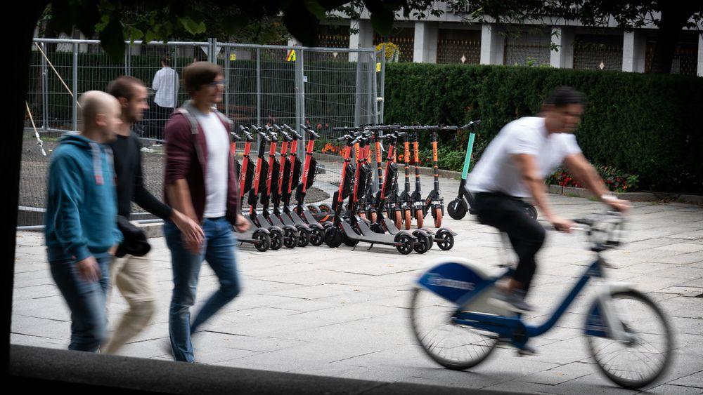 El-sparkesykler inntar Oslo. Svenske Voi skal konkurrere mot Oslos bysykler.