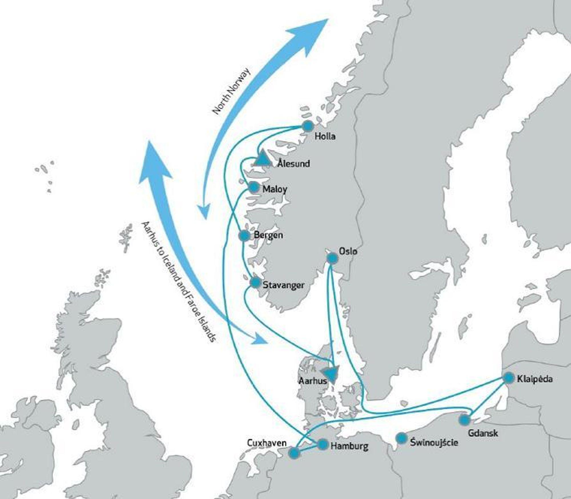 Oslo Knytter Seg Til Ost Og Vest Mtlogistikk No