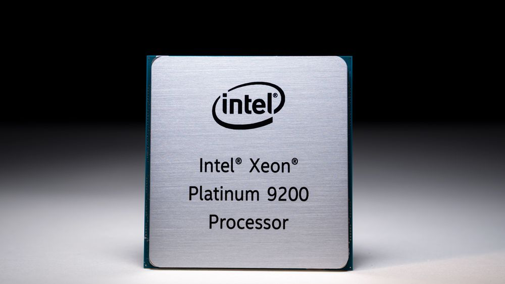 Intel Xeon Platinum 9200.