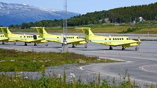Luftambulansen gjennomførte like mange flyoppdrag tross Babcock-trøbbel