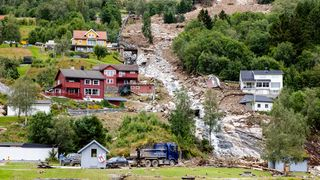 Geolog vurderte rasfaren på Jølster fra avstand