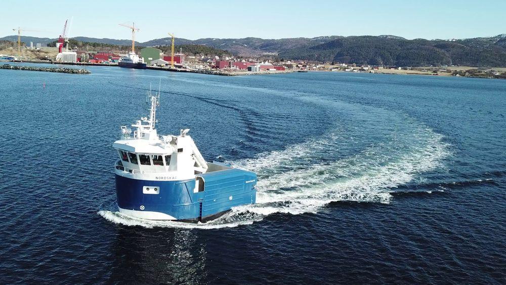 Nordskag er designet for å høste mer tare enn dagens fartøy.