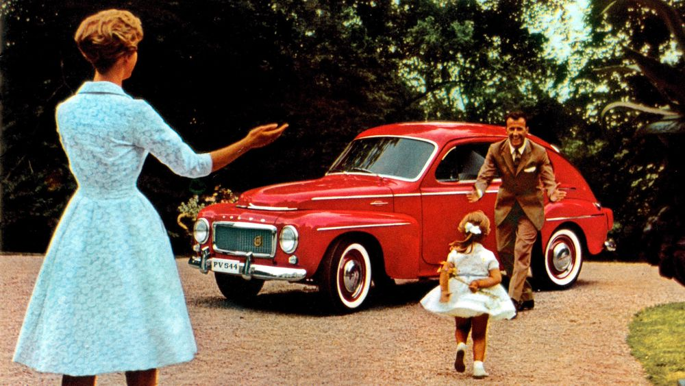 Vovlo PV544-annonse fra 1958.