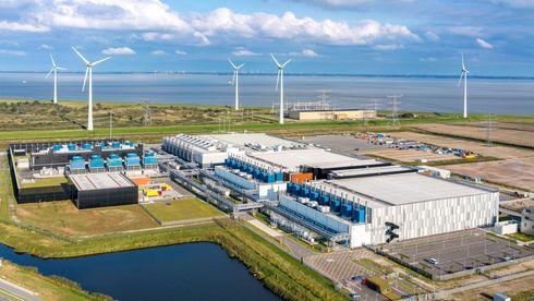 Googles datasenter i Eemshaven i Nederland
