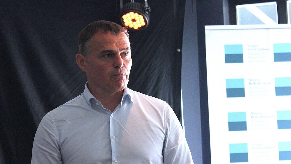 Forskningsleder Anders Valland i Sintef på Arendalsuka 2019.