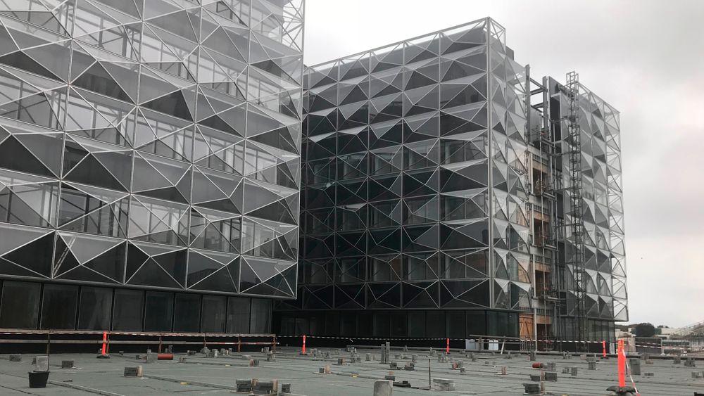Niels Bohr Bygningen ved Københavns Universitet er blant byggene som har hatt problemer med EPS-betong.