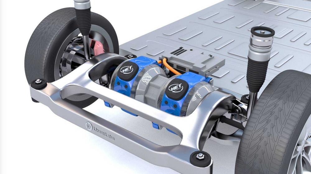 HET-motoren skal levere dobbel på mye effekt som dagens elmotorer av samme størrelse.