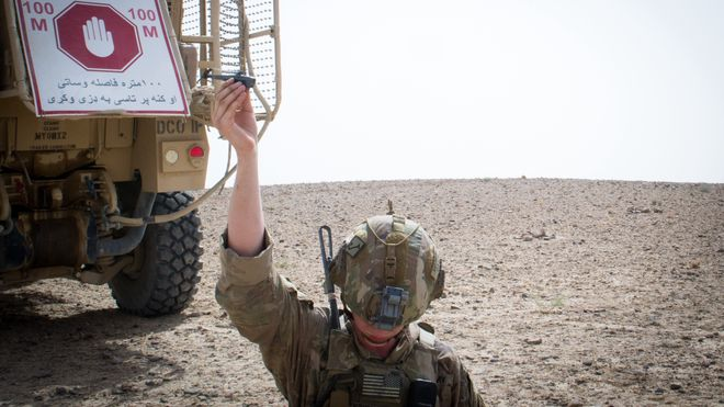 Norsk kjempekontrakt: Nå bruker den amerikanske hæren Black Hornet i Afghanistan