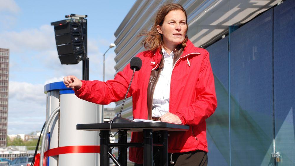 Sintef-direktør Alexandra Bech Gjørv har sittet i regjeringens teknologiutvalg for transport.