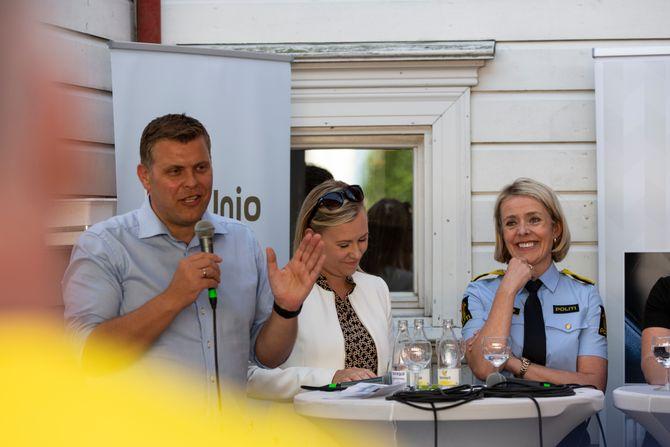 Politiets Fellesforbunds debatt under Arendalsuka 2019.