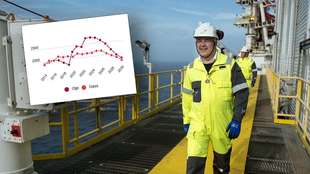 Olje- og gassminister Kjell-Børge Freiberg. Men mest gassminister.