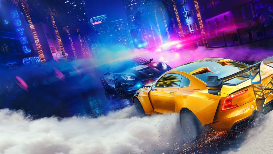 Need for Speed Heat dropper «loot»-bokser