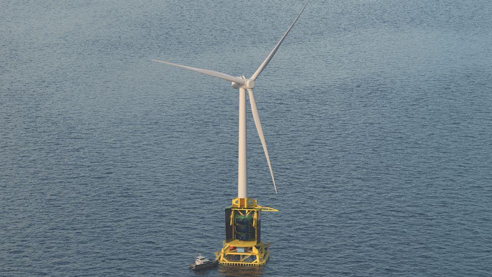 Kombinasjonen vindkraft og oppdrettsanlegg er foreløpig et konsept, men kan bli virkelighet om tre til fire år.