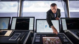 Verdens største hybridskip seiler for første gang:– Som å gå fra steinalderen til rakettalderen