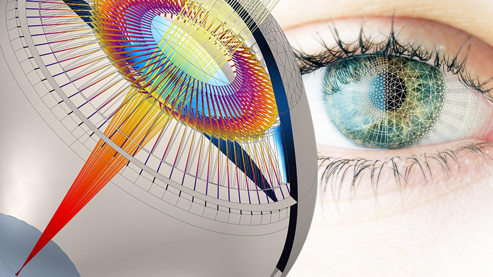 ANNONSE: 3D-modell av øyet kan utsette behovet for lesebriller med minst 20 år